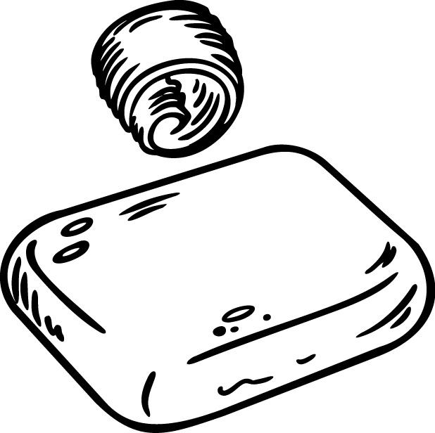 俄国美食手绘插画免费下载 插画 黑白 美食 手绘 线条 手绘 插画 美食