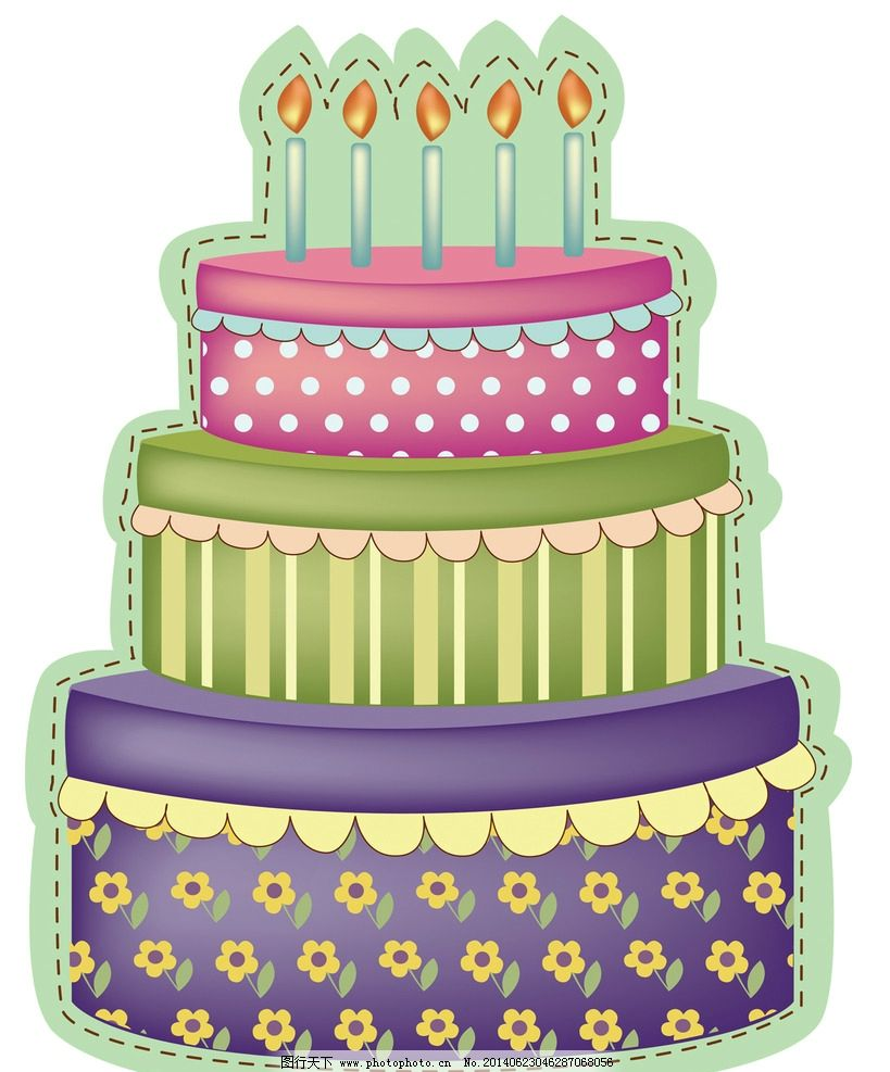 蛋糕 生日蛋糕 卡通蛋糕 奶油蛋糕 蜡烛 圆形蛋糕 水果蛋糕 草莓蛋糕