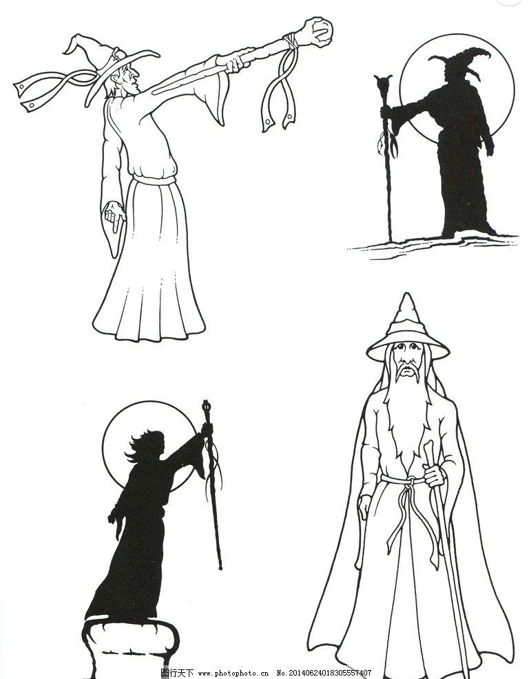 动画女巫图片图片