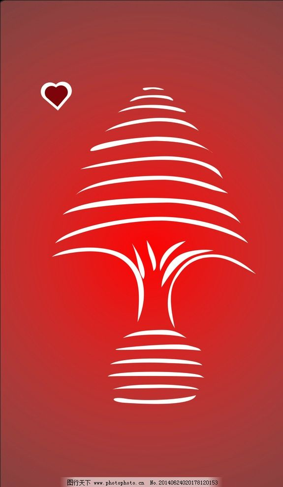 圣诞树 圣诞 树 贺卡 贝塞尔曲线 简笔画 其他图标 标志图标 设计 cdr