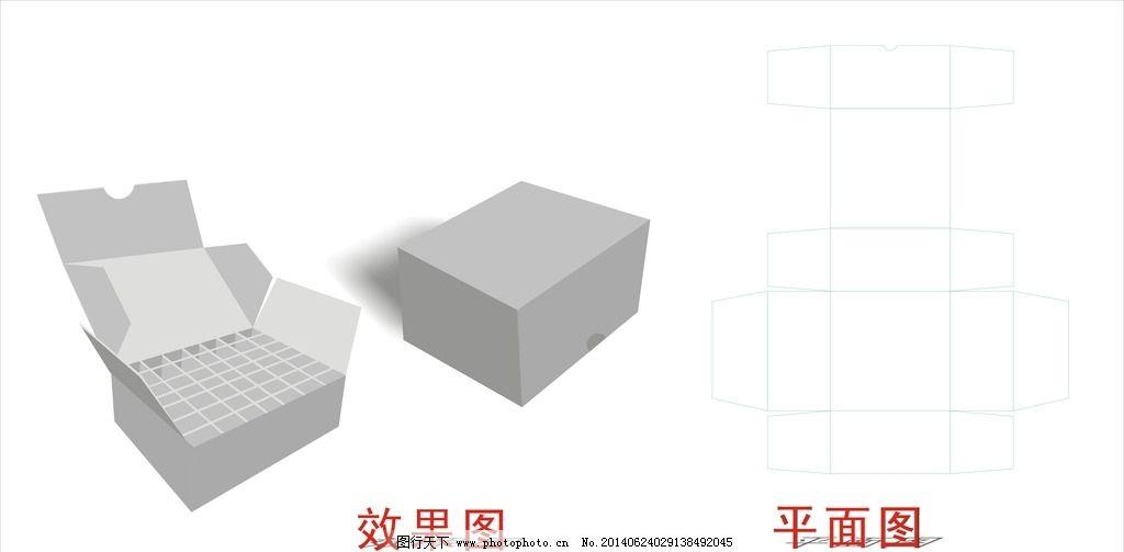 包装效果图 瓦楞盒 盒子平面图 包装立体图          包装设计 广告设