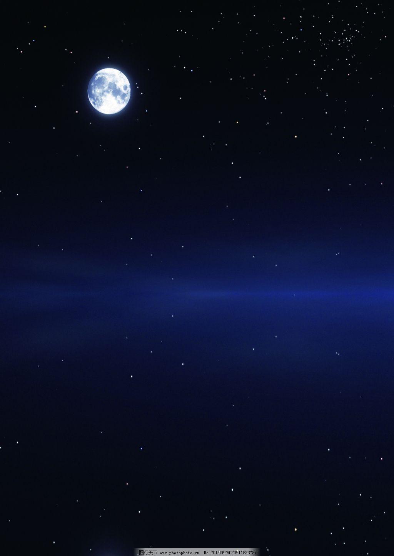 月亮星空免费下载 星星 夜空 宇宙 月亮 月亮 星星 夜空 宇宙 图片