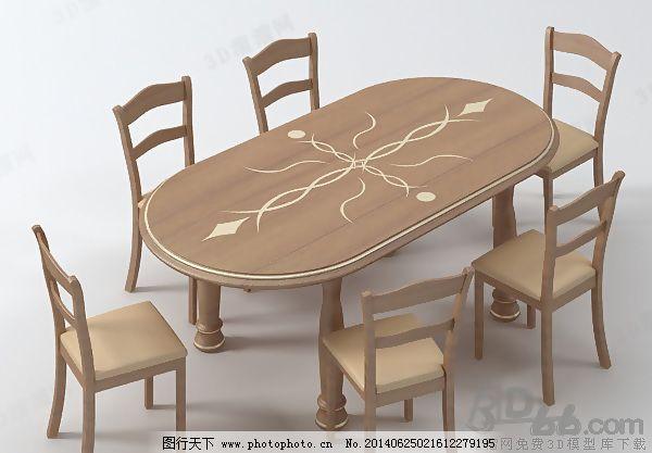 3D欧式实木餐桌椅组合模型免费下载 max9 餐厅 餐椅 餐桌 饭店 欧式 曲 椭圆 椅子 桌椅 max9 有贴图 家具组合 曲 欧式 椭圆 桌子 餐厅 饭店 桌椅 六 椅子 餐椅 餐桌 餐桌椅组合 欧式实木餐桌椅组合 3D模型素材 家具模型