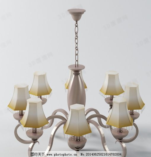 max9 灯具 吊灯      欧式      max9 无贴图 欧式 吊灯 花式 灯具 一