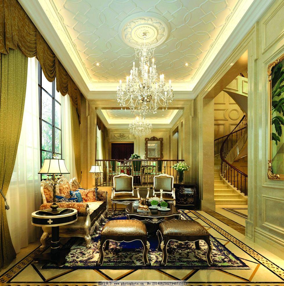 欧式装修 高档装修 家装设计 空间设计 客厅装修      欧式客厅 室内