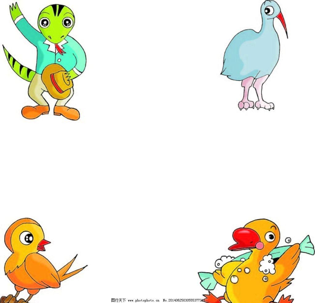 动物 卡通动物 动物大全 卡通 时尚插画 时尚卡通 卡通形象造型 卡通