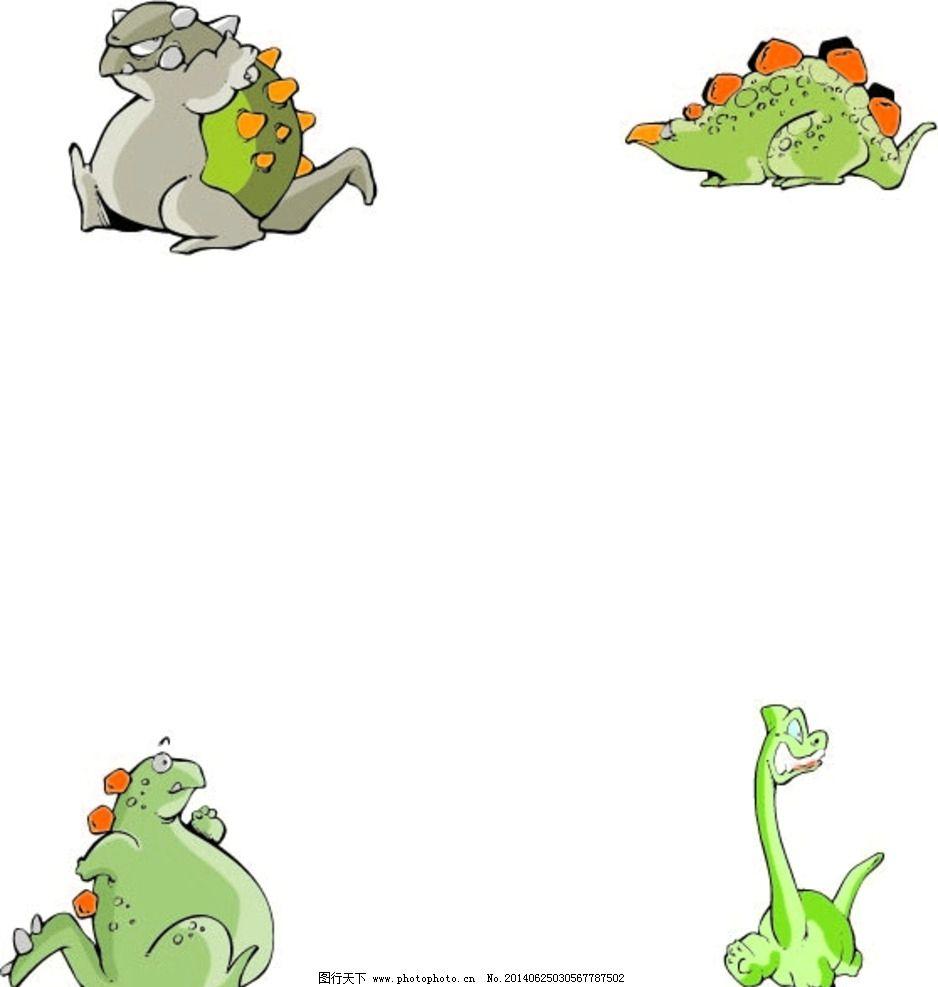 恐龙ppt背景可爱