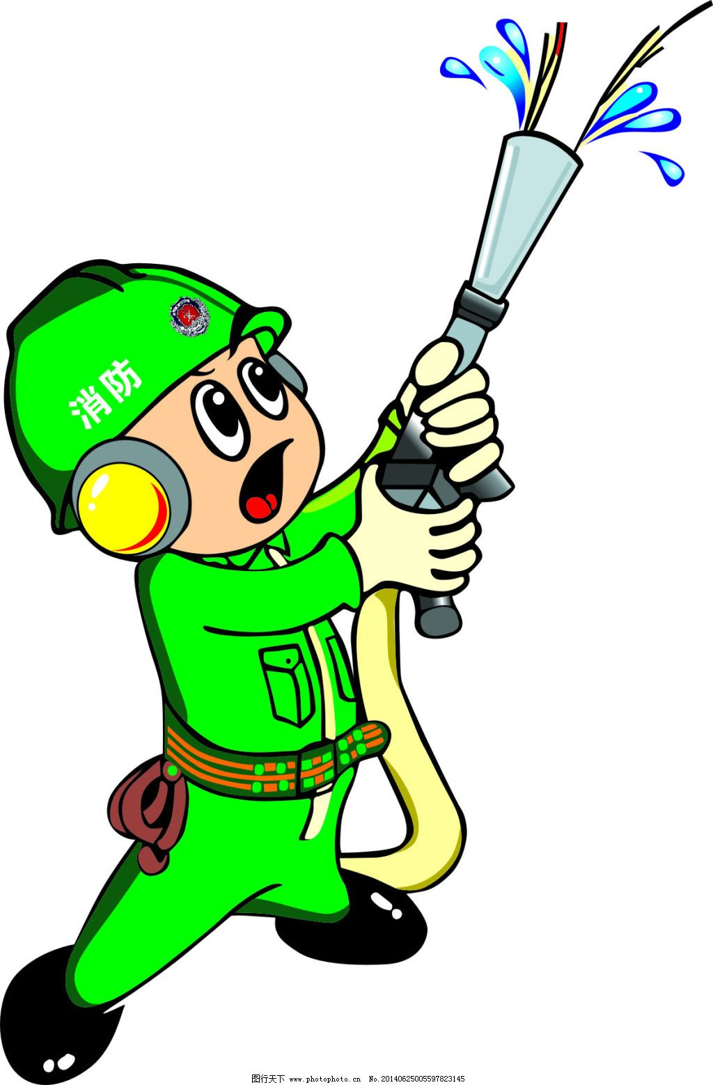 矢量图 消防 消防标志 消防标志 消防卡通人 消防 矢量图 其他矢量图