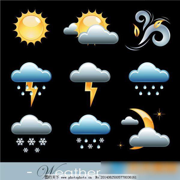 天气预报图标免费下载