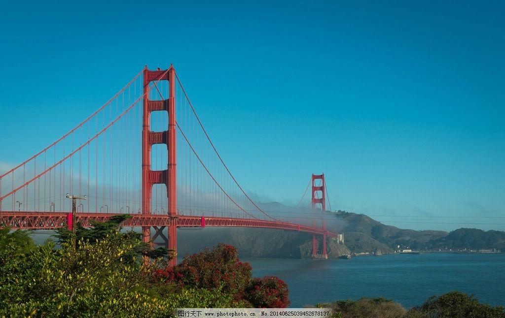 旧金山大桥图片