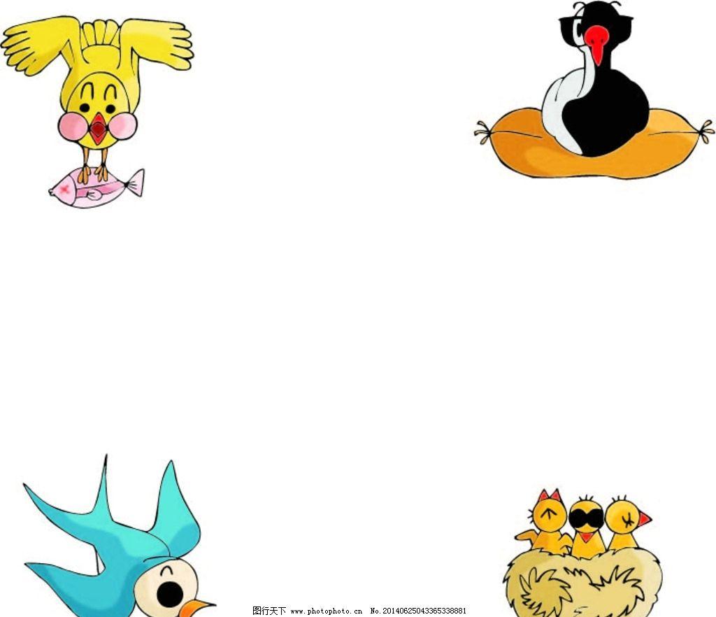 卡通动物 动物 卡通 图片_ppt图表_ppt_图行天下图库