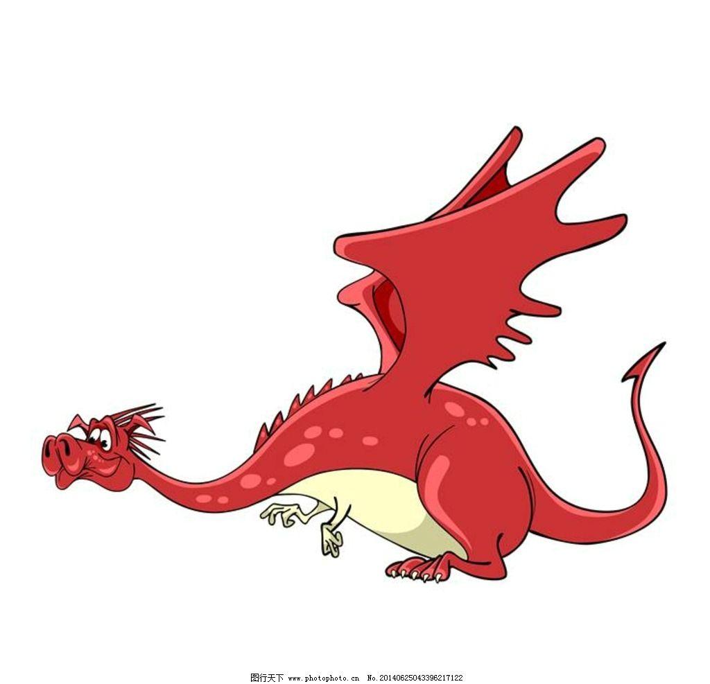 火龙图片,卡通动物 小动物 可爱动物 卡通设计 广告