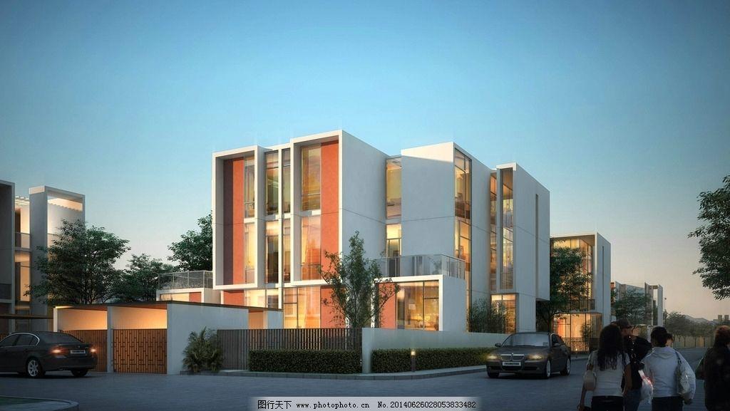 建筑效果图 建筑设计 建筑模型 公建效果图 后期效果图 城市建筑 建筑