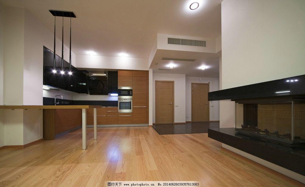 效果图/现代厨房效果图图片