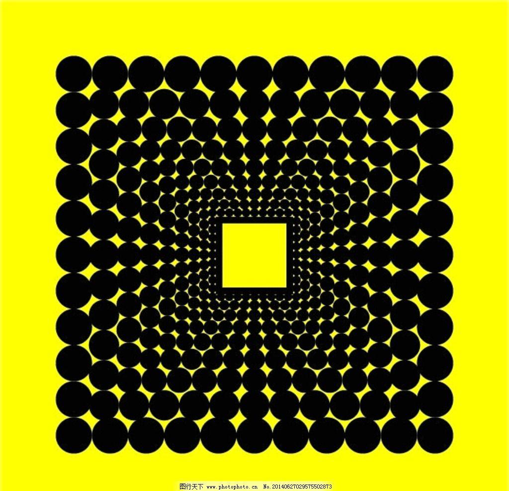 圆形放射图案 圆形 正方形 正方形放射 圆形放射矢量 矢量 模板 广告