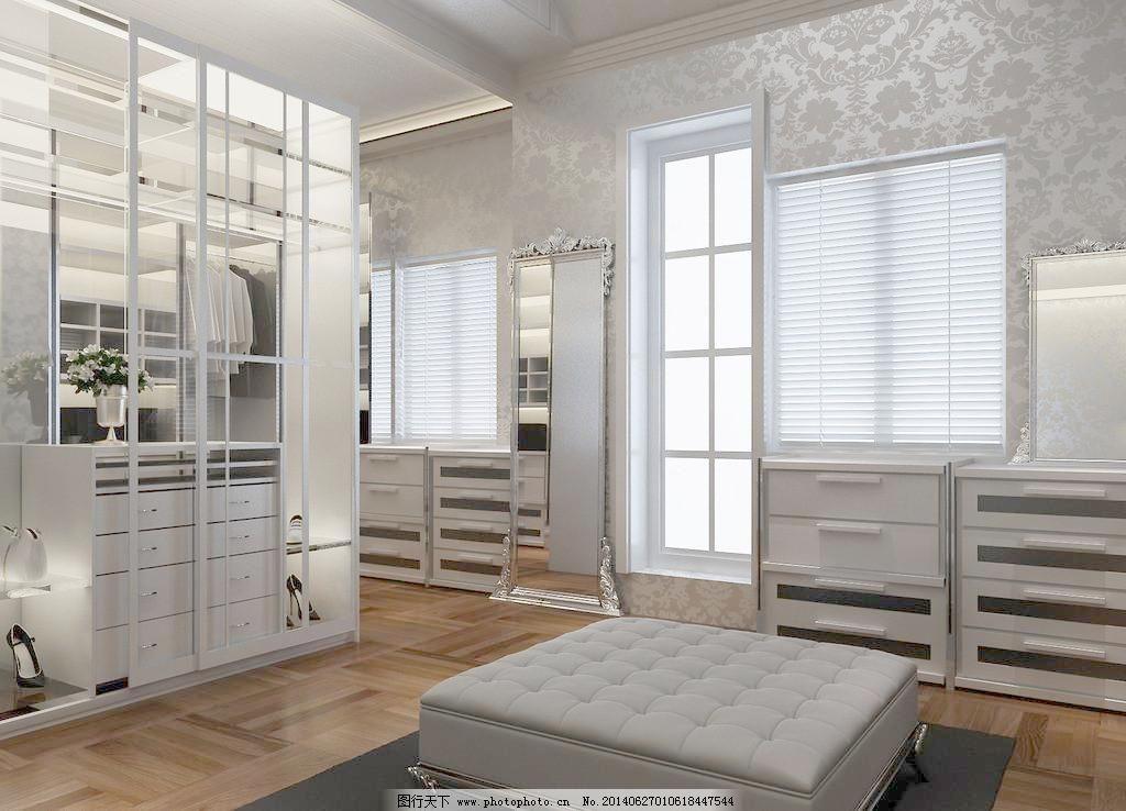 素材 梳妆间 更衣室 室内装修效果图 环境设计 设计 300dpi 家居装饰