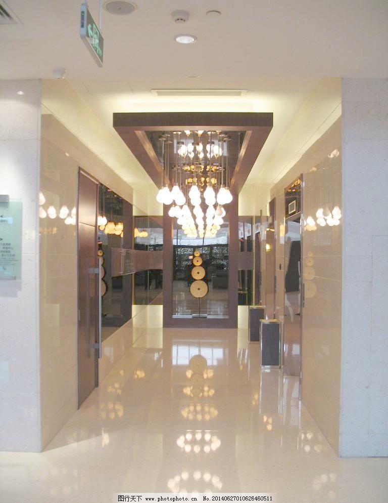 电梯厅,北京 背景墙设计 吊灯设计 吊顶设计 建筑园林