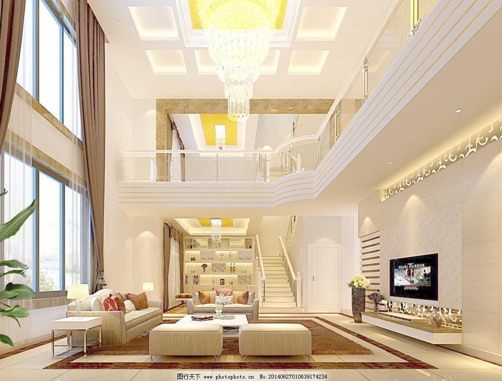 家装豪华别墅客厅