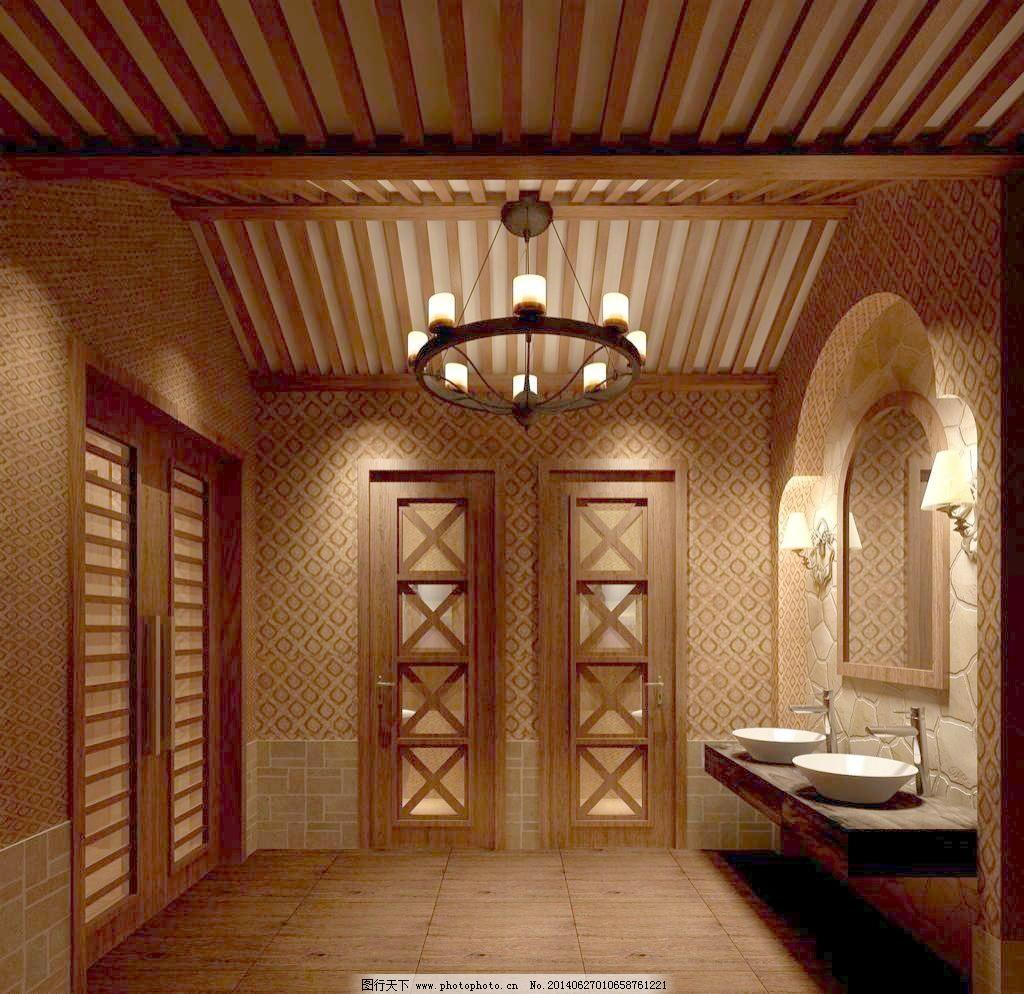 北京 餐厅 隔断 花窗 环境设计 酒店设计 欧式壁灯 设计 中式卫生间