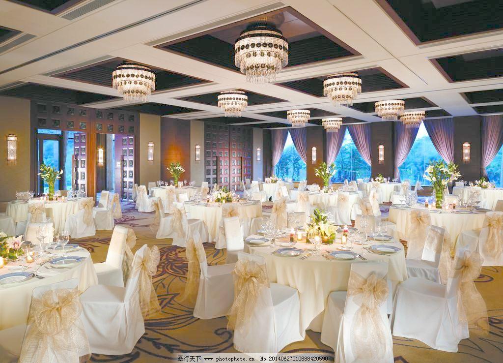 宴会厅 摆设 北京 背景墙设计 餐盘 餐厅 吊灯 概念设计 高脚杯