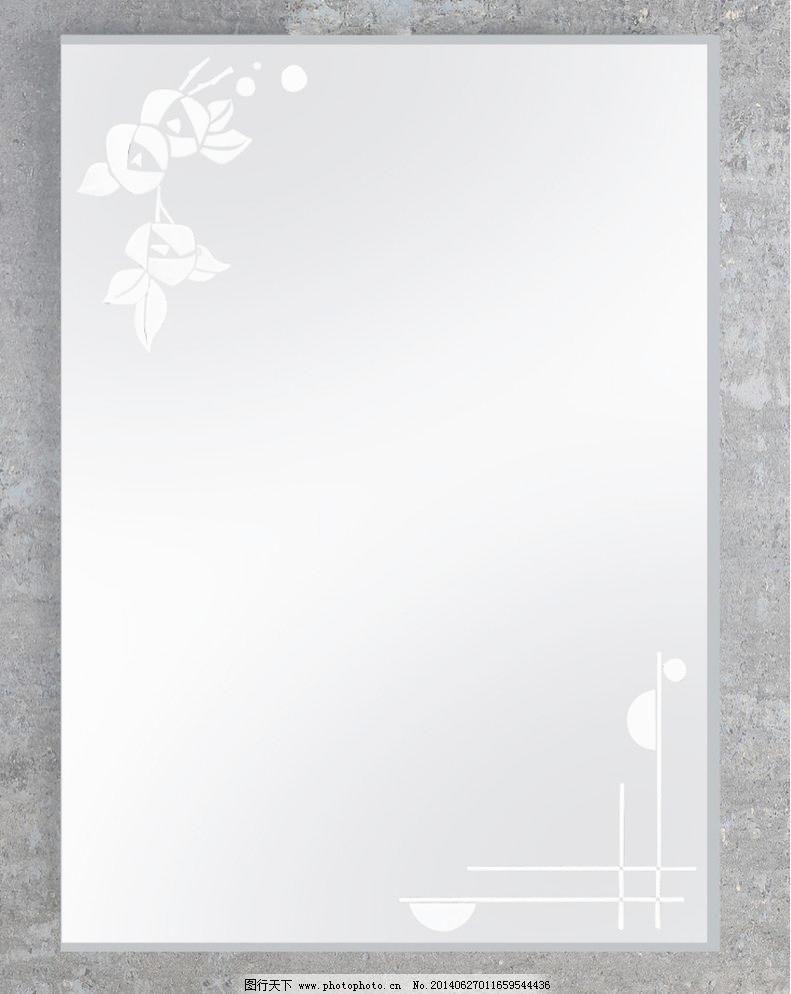 玫瑰雕花镜 镜子图片