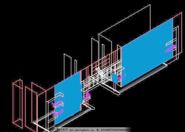 cad 公寓 户型 花园 环境设计 建筑设计 立体模型 楼层 平面图 施工图