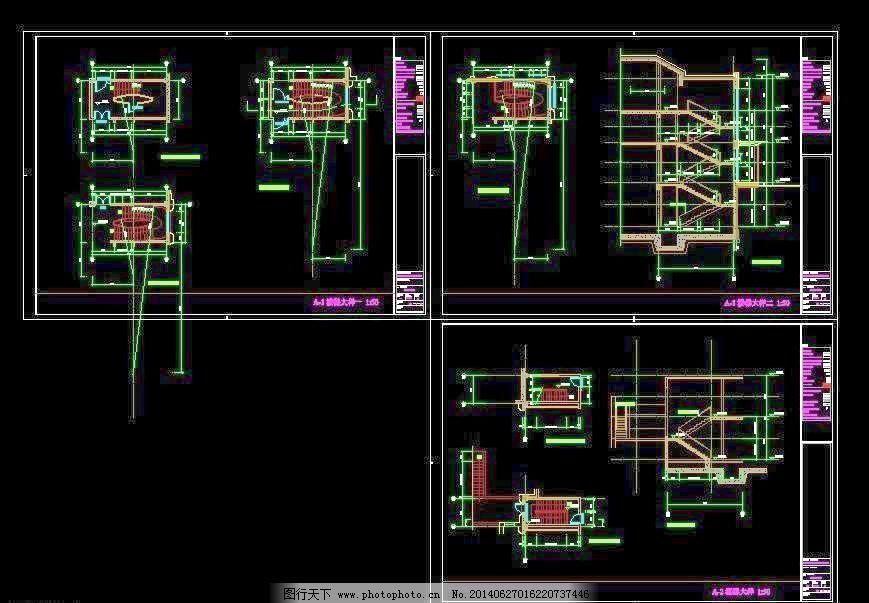 办公楼 包房 厂房 花园 环境设计 建筑设计 酒店 立面图 电梯大样