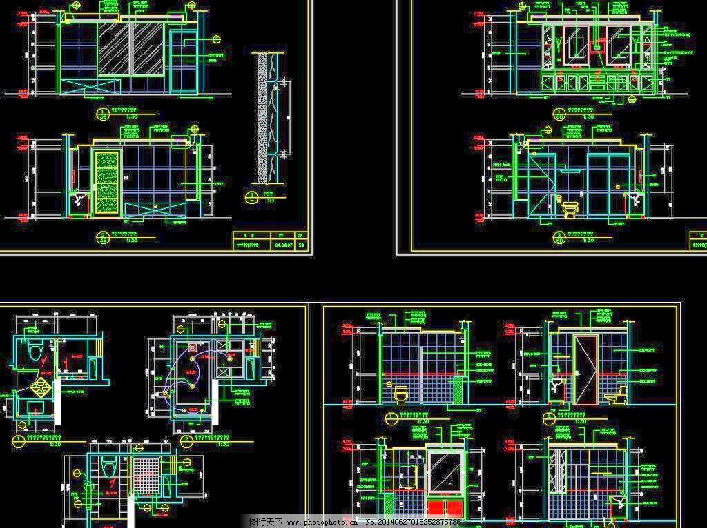 厕所地板结构图