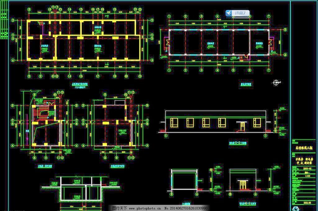 花园 环境设计 建筑设计 楼层 平面图 施工图 室内设计 水电房 配电房