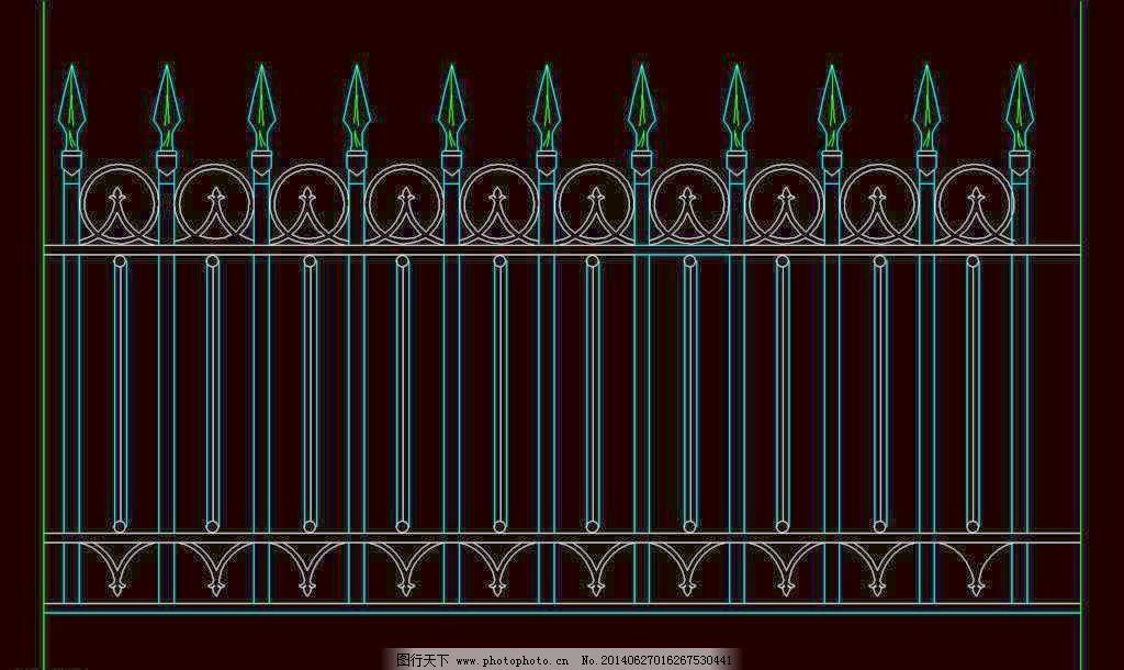 中式栏杆图片