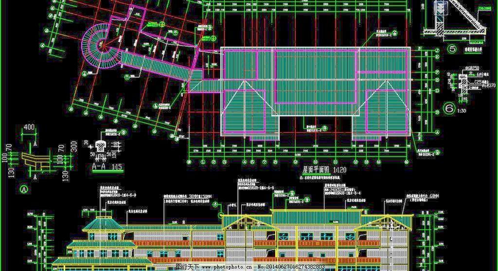楼房 民居集锦cad图 建筑设计 环境设计 源文件 dwg cad素材 室内图纸