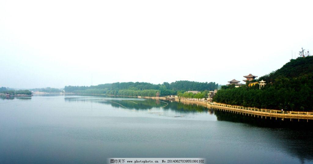 洛神湖 东阿 药王山 湖心岛 大宅门影视城 园林建筑 建筑园林 摄影 24