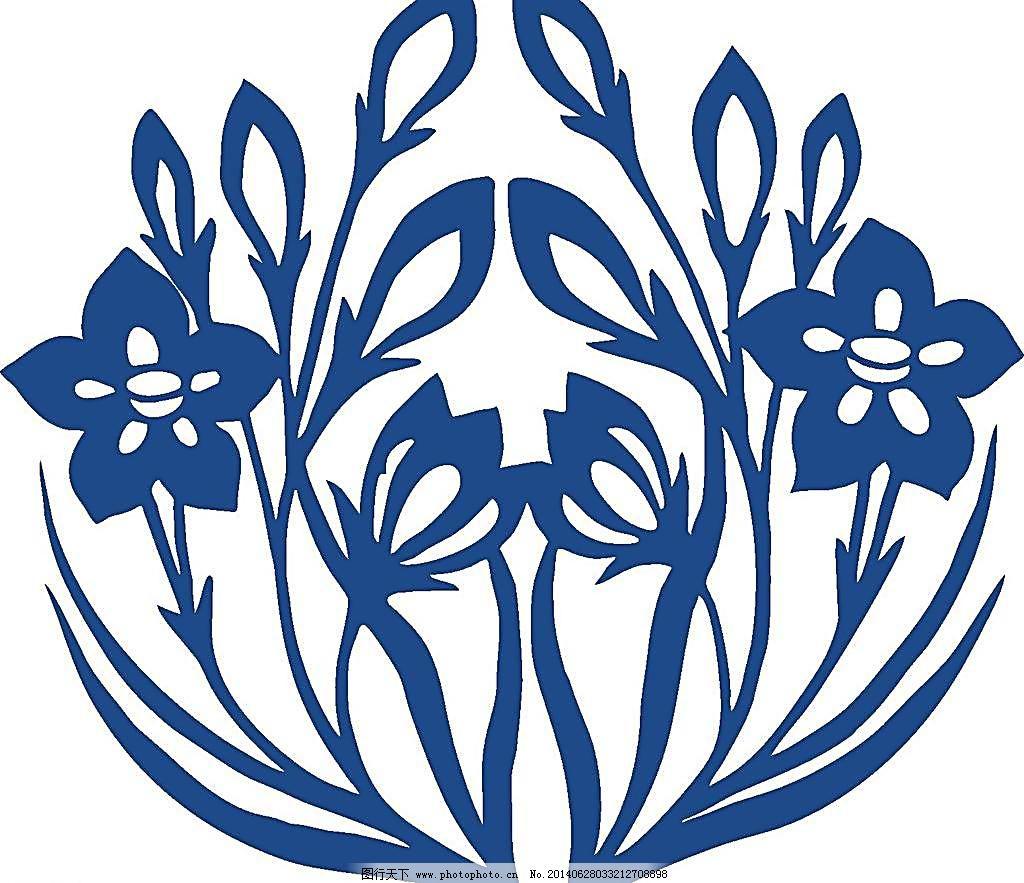青花瓷图案设计