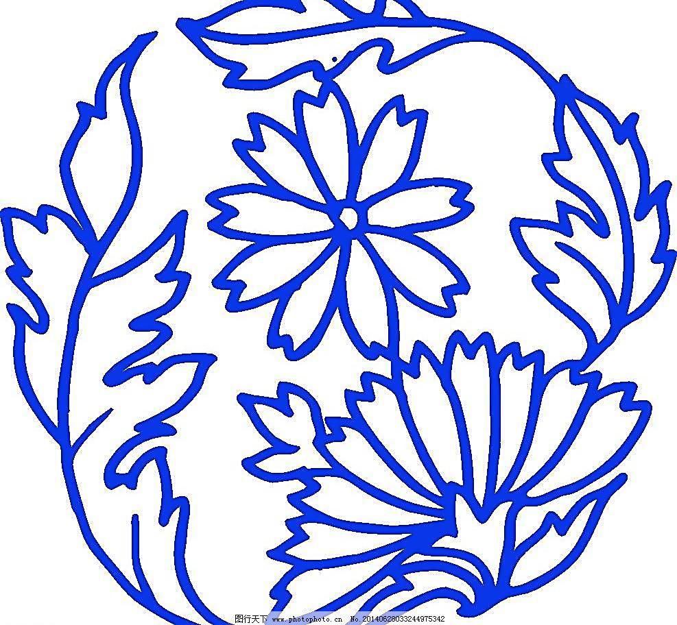 陶瓷 手绘花纹