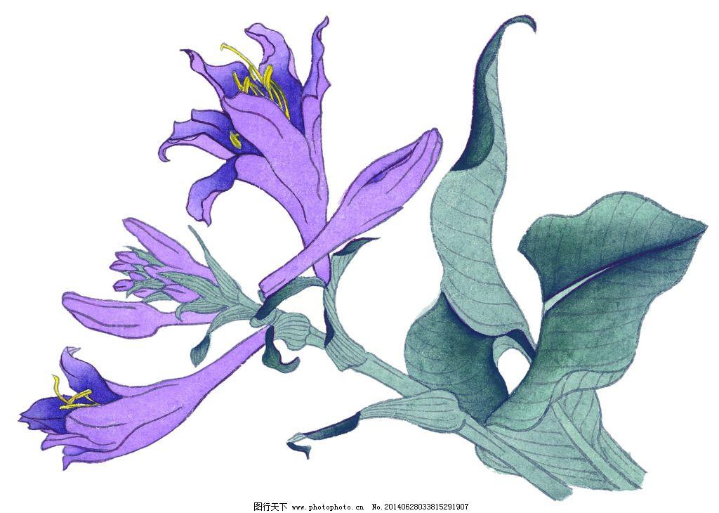 紫旋律免费下载 背景 风景 工笔 花卉 花鸟 美术 泼墨 设计 文化艺术