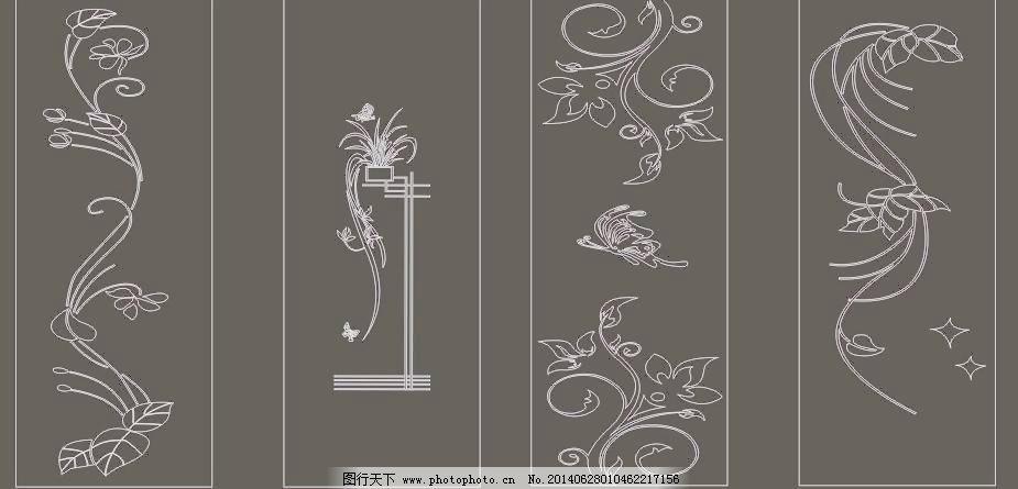 雕刻 窗花 古典 移门 雕刻免费下载 广告设计 移门图案 矢量