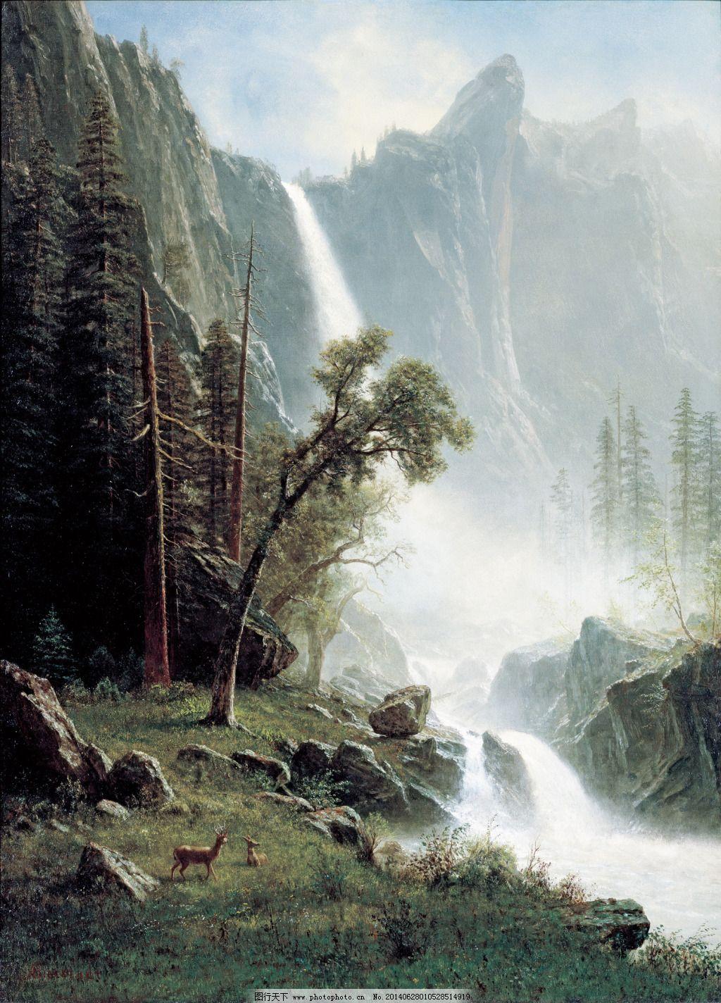 风景油画 欧式油画