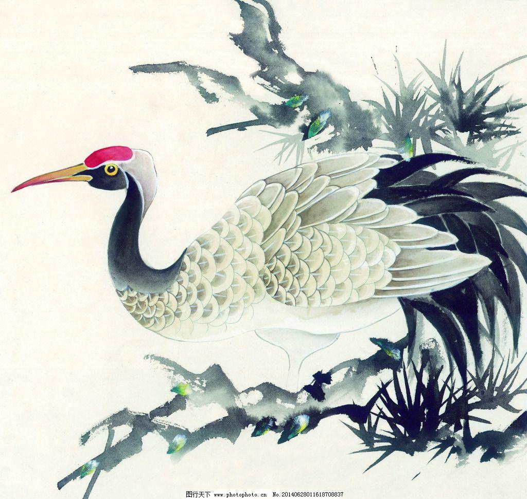 工笔画 绘画 美术 泼墨 人物 水墨 文化艺术 写意 中国画 水墨动物 花