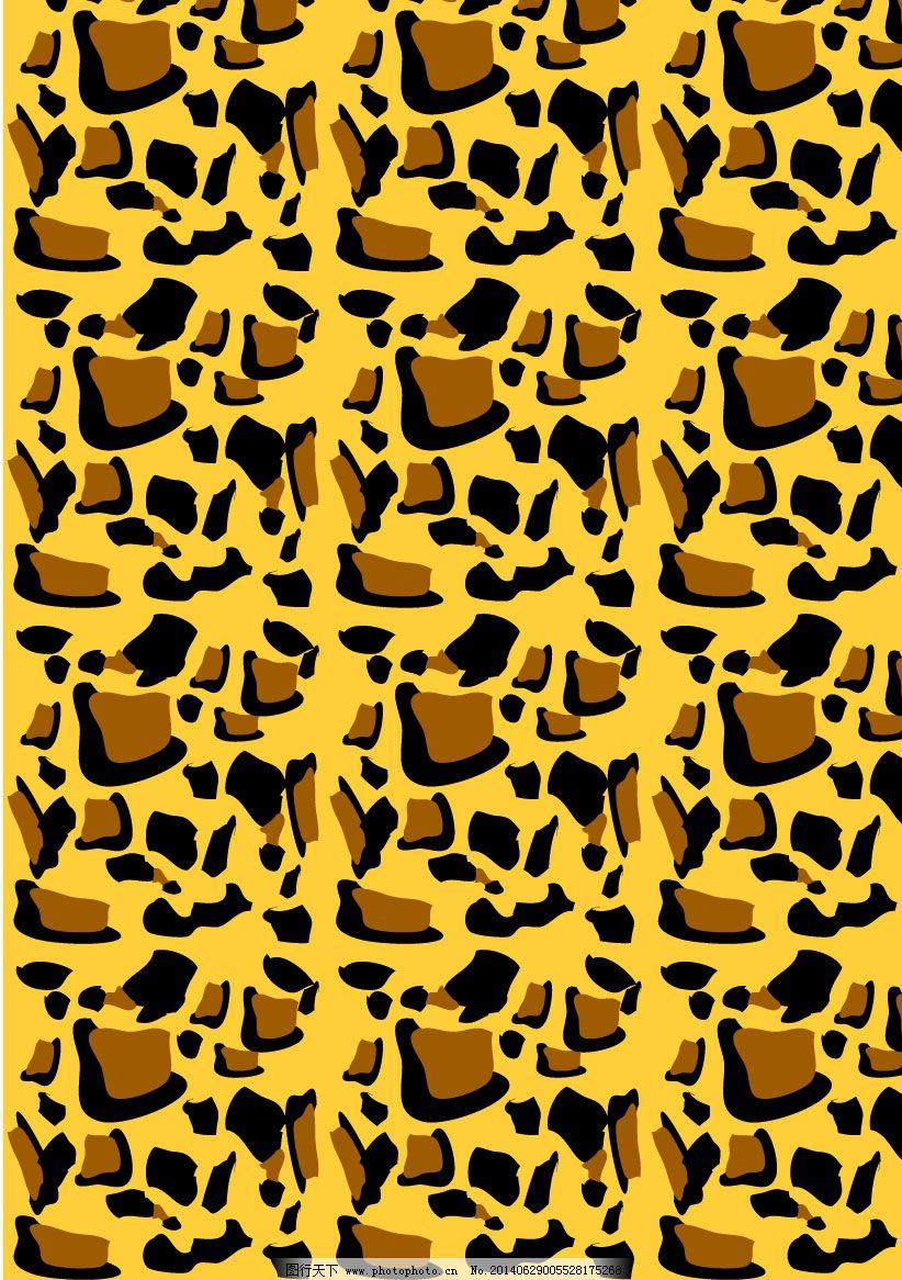 矢量豹纹免费下载图片