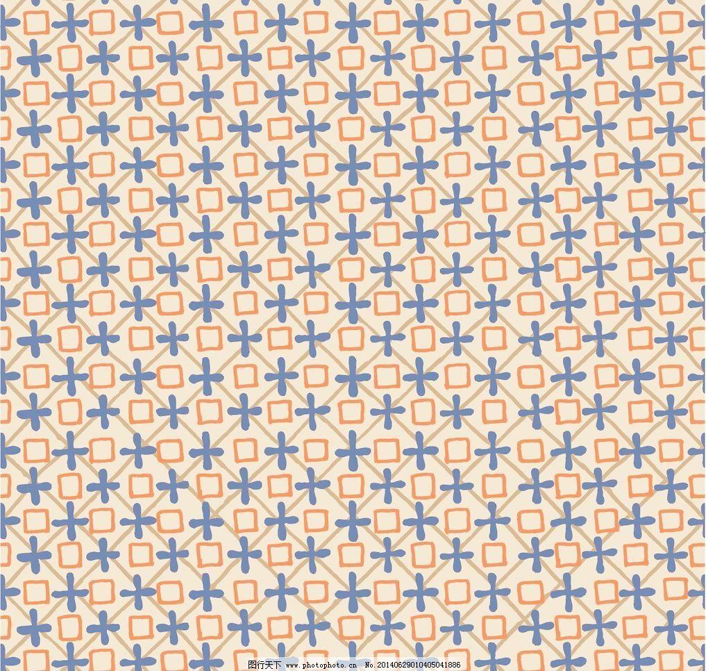 几何布纹贴图欧式