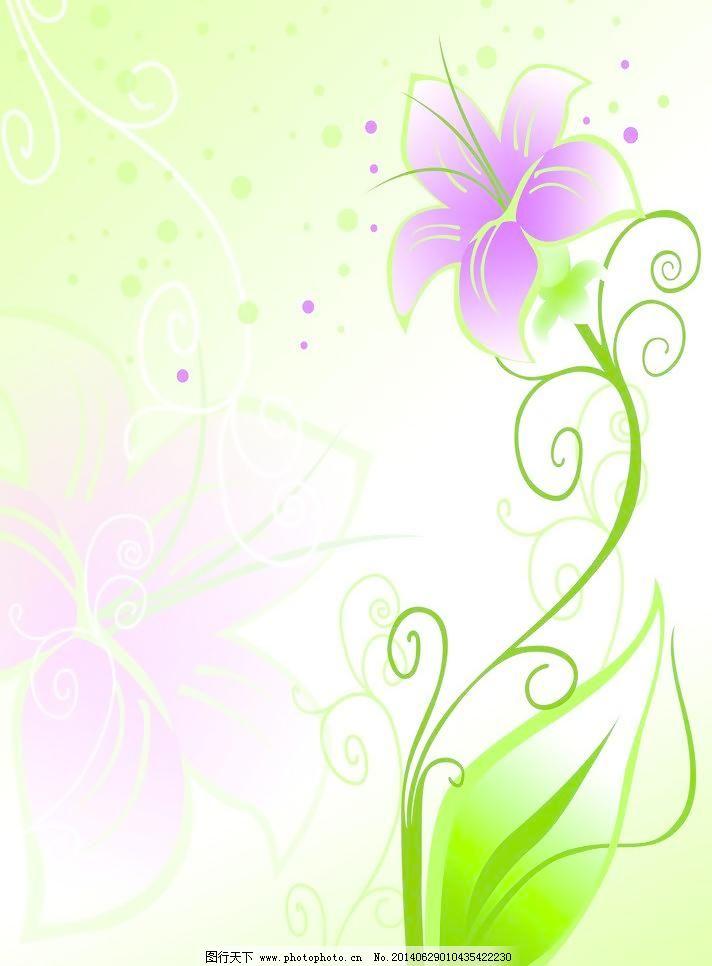 简约 渐变 绿色 设计 移门 花朵 花纹 背景 绿色 渐变 简约 移门图案