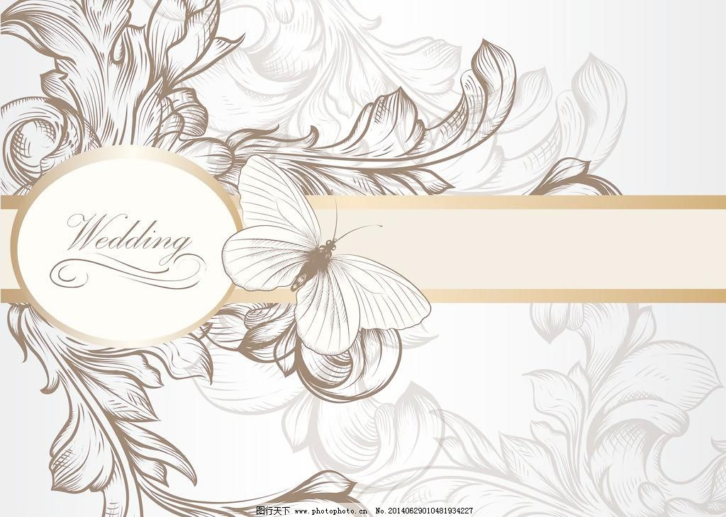 手绘花卉_移门_装饰素材_图行天下图库