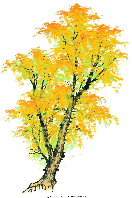 枫叶 枫叶免费下载 绘画 年华 手绘 水彩画 水墨画 艺术 源文件