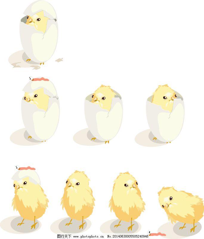 儿童手绘鸡