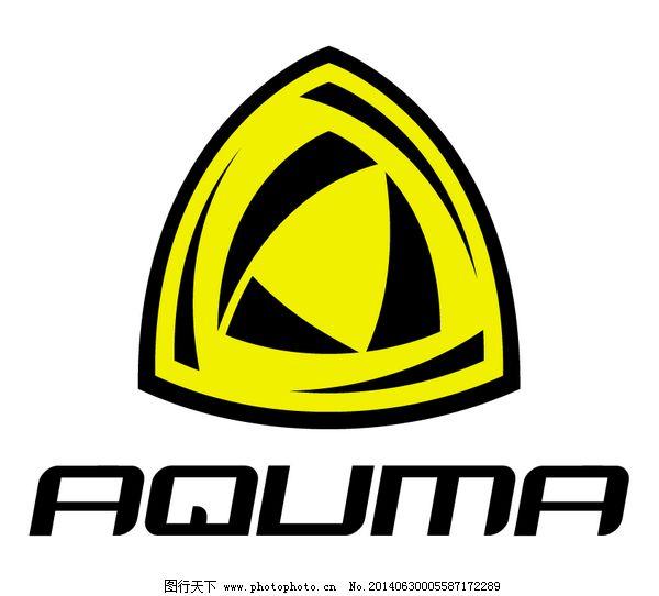 欣赏/Aquma logo设计欣赏Aquma服装品牌标志下载标志设计欣赏