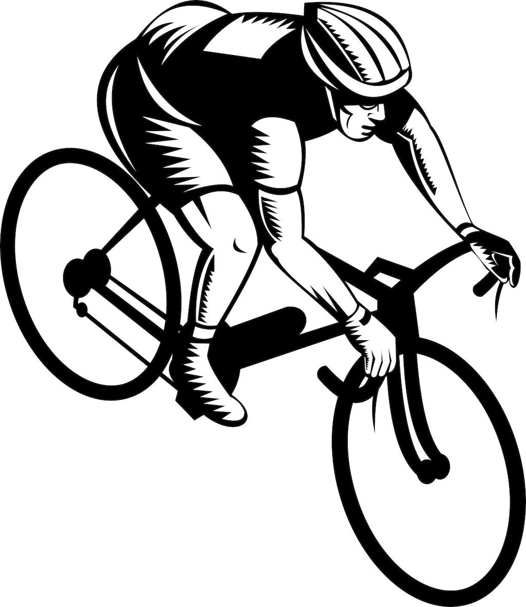 骑自行车的人 骑自行车