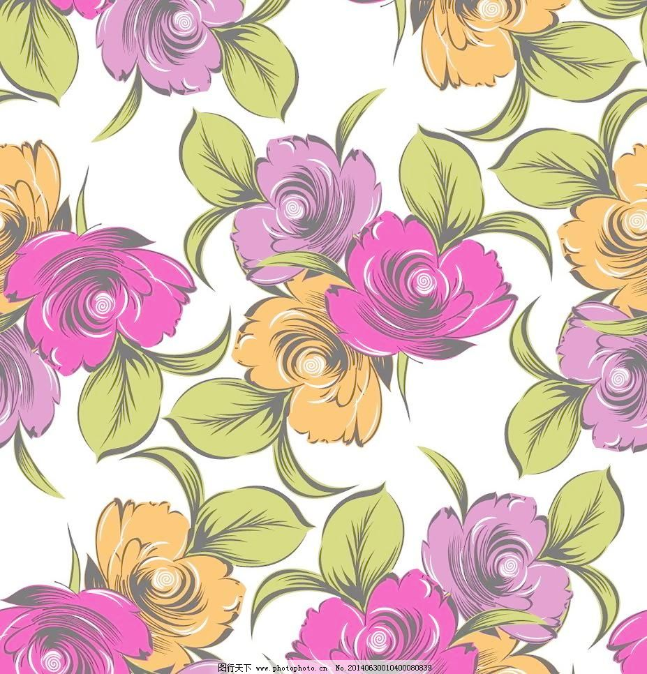 底纹边框 花 花边 花草 花草背景 花朵 手绘花卉 花卉 梦幻花卉 花边