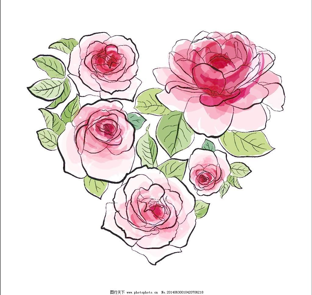 底纹 底纹背景 底纹边框 花 花边 花草 花草背景 花朵 手绘花卉 花卉