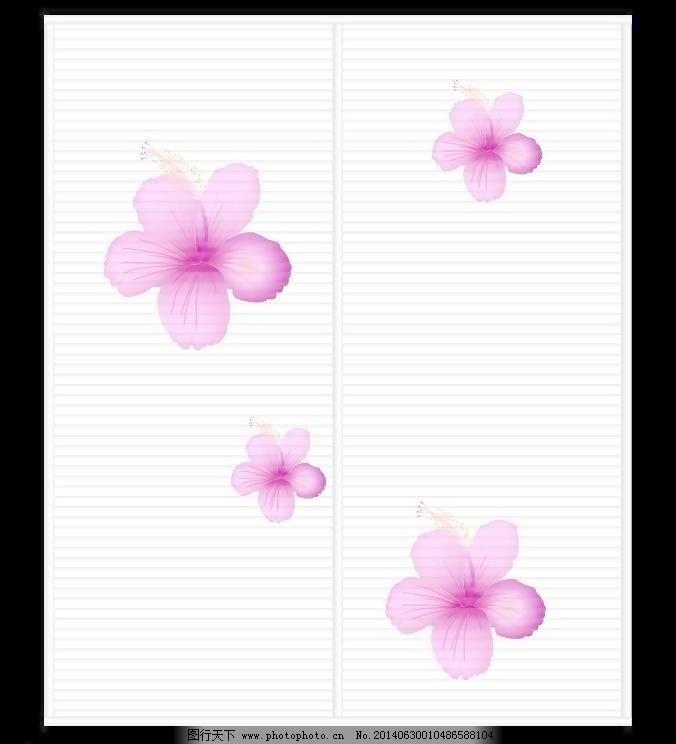 杜鹃花 杜鹃花免费下载 粉红 广告设计 玫红 移门图案 波浪板
