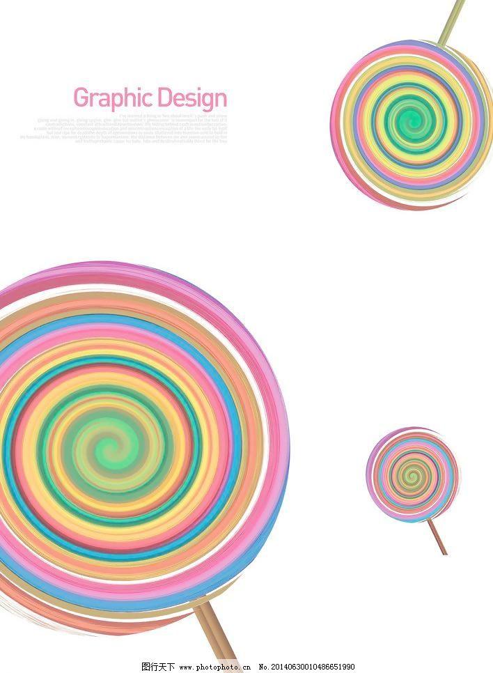 波板糖 彩色 圈圈 移门图案 底纹边框 设计 100dpi jpg 家居装饰素材
